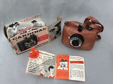 Vintage Cardinal Camera with original box and vinyl case