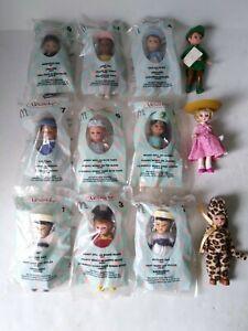"Madame Alexander McDonalds  Happy Meal Dolls Lot Of (12) ""SUPER RARE LOT"""