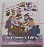 Little Witch Academia Vol.3 First Limited Edition Blu-ray+Making Book+Card Japan