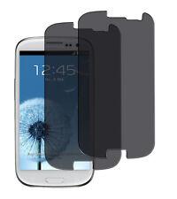 2 x Blickschutzfolie Samsung Galaxy S3 Privacy Displayschutz Folie Antispy matt