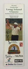 1998 Northville Long Island Classic golf brochure ~ AUTOGRAPHED by Lee Trevino