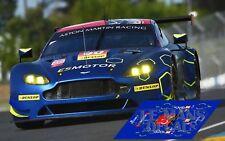 Decals Aston Martin Vantage GTE Le Mans 2017 90 1:32 1:43 1:24 1:18 slot calcas