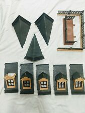 Playmobil Victorian Mansion roof parts dormers 5300 5301