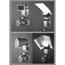 Interfit Photographic Strobies Flash Gun Bounce Set for Shoe Mount Flashes