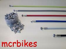 QUALITY BICYCLE BRAKE CABLE & HOUSING FRONT & REAR COMPLETE + *FREE END CRIMP*