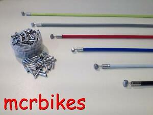 Quality Bicycle Brake Cable & Housing Front/ Rear Complete + *FREE END CRIMP*