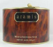 Aramis bath Muscle Soothing Soak In Metal Tin Large Size One Pound powder