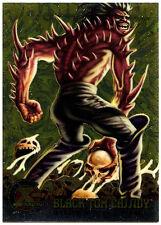 Black Tom Cassidy #60 Fleer Ultra X-Men Chrome Trade Card (C291)