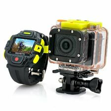 IronX DXGD01VHD 16MP 1080p HD Action Video Camera + Remote Control Watch
