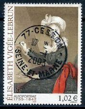 TIMBRE FRANCE OBLITERE N° 3526 ELISABETH VIGEE LEBRUN