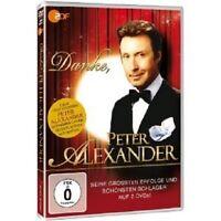 "PETER ALEXANDER ""DANKE PETER ALEXANDER"" 2 DVD NEW"