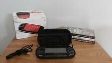 Sony PSP 3003 Slim & Lite Boxed Console Bundle - 3 Games +Case - New OEM Battery