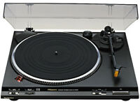 >> Technics SL-BD22 EX-DISPLAY HI-FI TURNTABLE (Including Perspex Lid) (Marked)