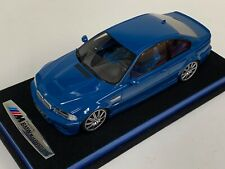 1/18 GT Spirit Otto Mobile BMW M3  E46 Riviera Blue OT790 custom base