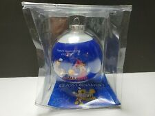 "Disneyland 2005 ""Happiest Homecoming On Earth"" 50th Round Glass Ornament - NIP"
