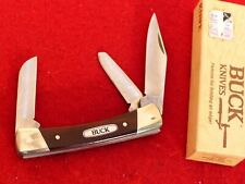 """Buck Made in USA 703 3-3/8"""" 3 Blade Stockman COLT Stock Knife MINT IN BOX"""