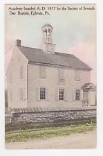 Ephrata,Pennsylavania,Seveneth Day Baptist Academy,Lancaster County,Used,1933