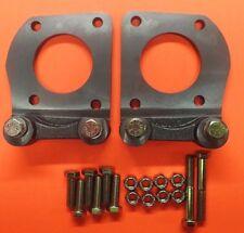 1964-1967 mustang v-8 4 piston caliper mounting brackets new  kelsey hayes style