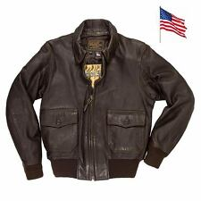 Blouson G1 du Porte-Avion USS Forrestal Sans Ecusson COCKPIT USA MADE IN USA