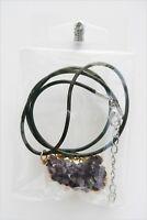 Colgante drusa de Amatista, Energia,  Amethyst pendant, Energy.  P105.