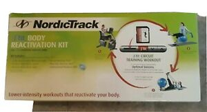Nordictrack ifit body reactivation kit ball mat tube band workout card DVD New
