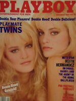 Playboy September 1989 | Karin & Mirjam Von Breeschooten Kc Winkler 1196+