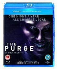 The Purge [Blu-ray] [2013] [Region Free] [DVD][Region 2]