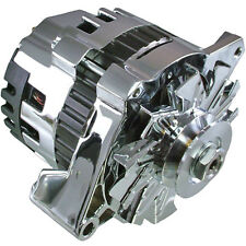 Chrome ONE 1 WIRE ALTERNATOR *220 AMPS* HIGH OUTPUT FOR CHEVROLET GM