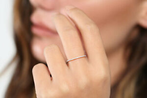 Diamant Memory Ring 60 Brillanten 0,30 Carat  585er 14K WEISSGOLD  Wert 1100€