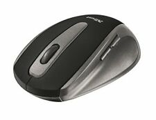 Trust EasyClick Wireless Optical Mouse, 1000 DPI, 5 Buttons - Black