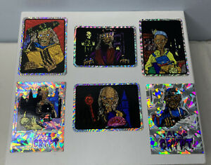 Tales From the Crypt Stickers 90s Horror Decal Crypt Keeper Lot Of 6 Stickers