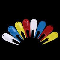 8pcs Multi-functional Plastic Golf Divot Repair Tool Golfer Kit Golf Accessories