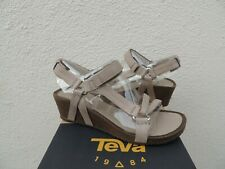 55a603923ca Teva Ysidro Universal Taupe Leather Strappy Women s Sandals Size US 8.5