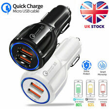 USB Fast Quick CAR Charger Adapter 16W / 5,9,12V / 3.1A for iPhone 11 11 Pro Max