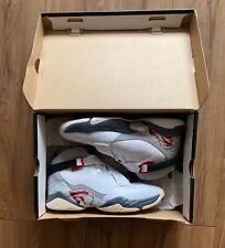 RARE New Nike Jordan 8.0  Basketball Casual Shoes 467807-105 White Size 8 US