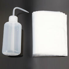 8oz Tattoo Green Soap Squeeze Wash Lab Algae Bottle + 100Pcs Bottle Bags