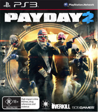 Payday 2 PS3 Game USED