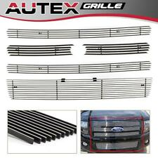 Chrome Billet Grille Grill Combo Insert Aluminum Fits Ford Expedition 2007-2014