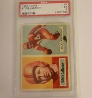 1957 Topps Football Eddie Lebaron # 1 PSA 5