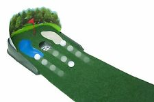 Green Putting Golf Mat Home Electronic Office Game Outdoor Indoor Ball Practice