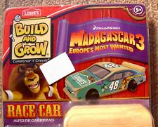 Jimmy Johnson #48 NASCAR Lowe's Build & Grow Racecar Kit (Madagascar 3)