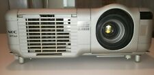 NEC MT860 LCD Projector with brand new lamp, remote control and ceiling mount