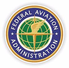 1x ADESIVO US Federal Aviation GUARNIZIONE forze aeree Decalcomania