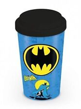 Official DC Comics - Batman Logo - Ceramic Travel Mug In Presentation Box