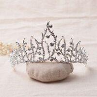 Crown Headband Tiaras Crowns Headbands Bridal Wedding Jewelry Glamourous