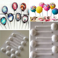 5PCS  3.5cm Round Lollipop Mold Sticks Hard Candy Mould Chocolate Mold Plastic