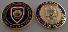 Tomball TX Texas Police CHALLENGE COIN Reason We Exist Is To Serve the Citizens