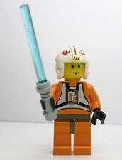 Luke Skywalker Pilot Star Wars 4483 7130 7140 7142  LEGO Minifigure Figure