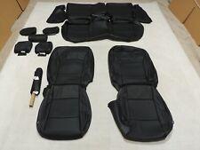 Leather Seats Upholstery Covers Fits Subaru Outback 2.5i Premium 15-19 Black E14