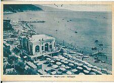 CARTOLINA d'Epoca - GENOVA:  ARENZANO 1946